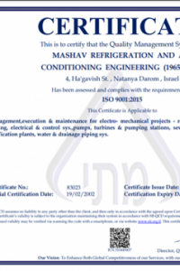 The Standards Institution Of Israel ISO 9001